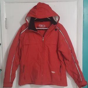 Marker ski jacket, red, size 14 NWOT
